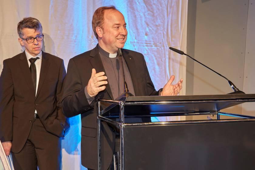 Gala 2019 Dankesrede für die Altstadtpreisträger durch Monsignore Stadt- und Domdechant Robert Kleine