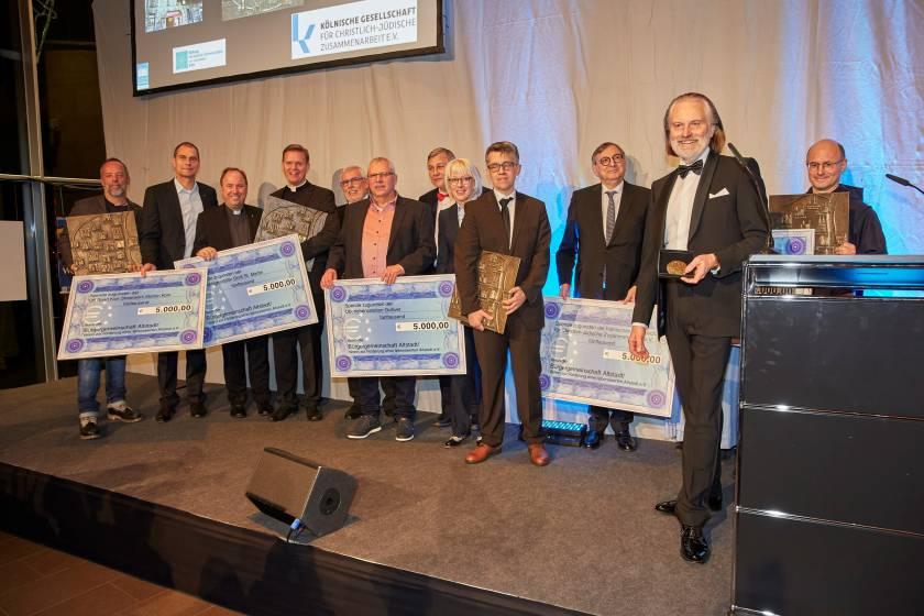 Ehrung der bisherigen Altstadtpreisträger durch die Bürgergemeinschaft Altstadt und Ehrung der Bürgergemeinschaft durch die Stadt Köln Gala 2019