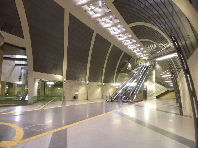 U-Bahn Haltestelle Heumarkt